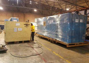 Packaging of Industrial Machines
