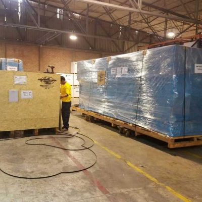 Packaging of Industrial Machines