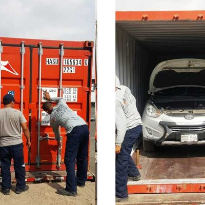 Export of Van to Argentina