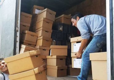 Moving of archives of the Peruvian State